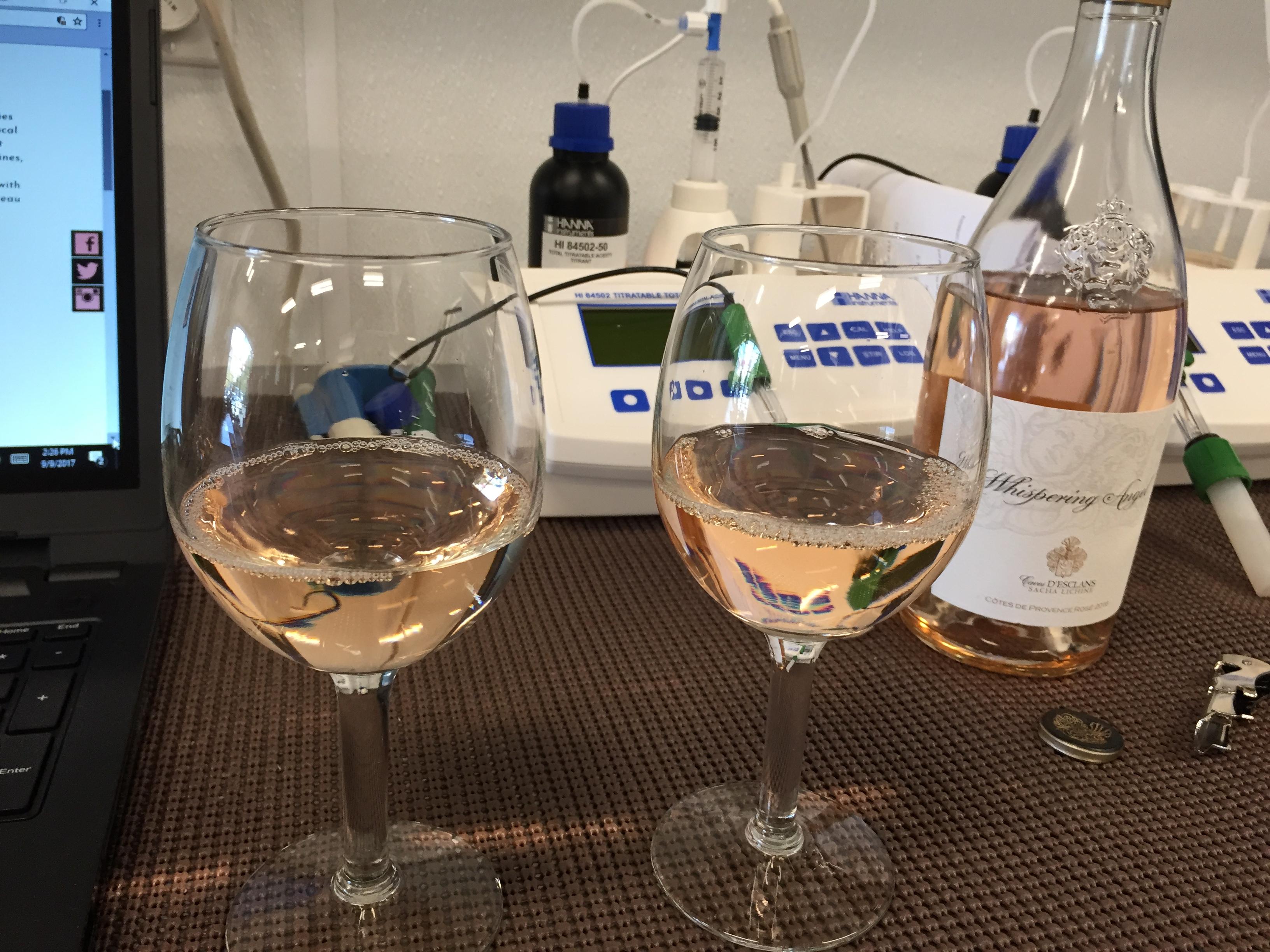 Jill & Lauren's Wine Profile Analysis