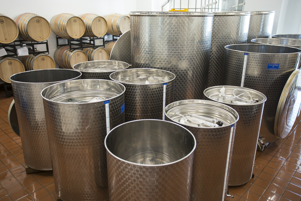 Seven Birches Winery Production Room