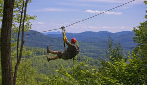 white mountain ziplining