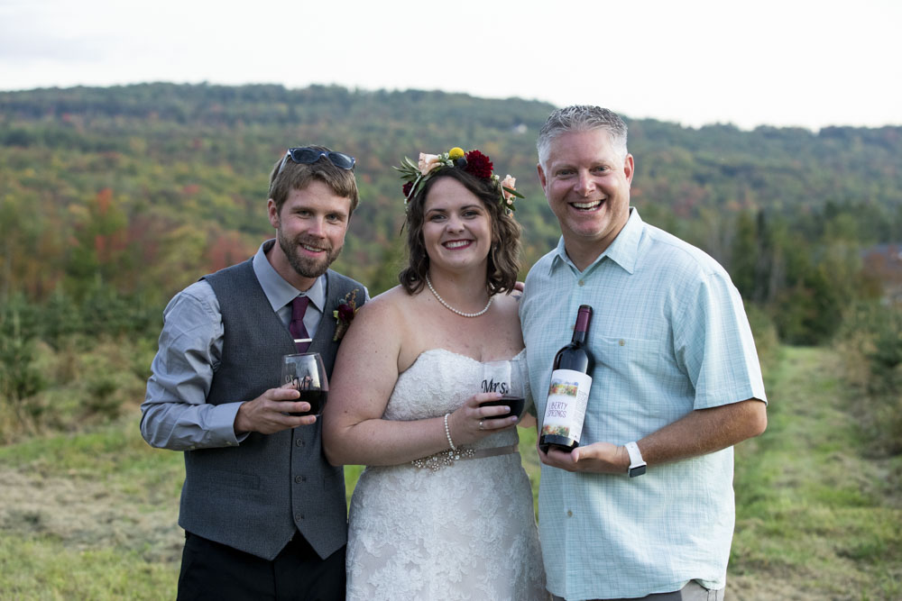 Liberty Springs: Our Custom Wedding Wine & A Gift That Keeps on Giving