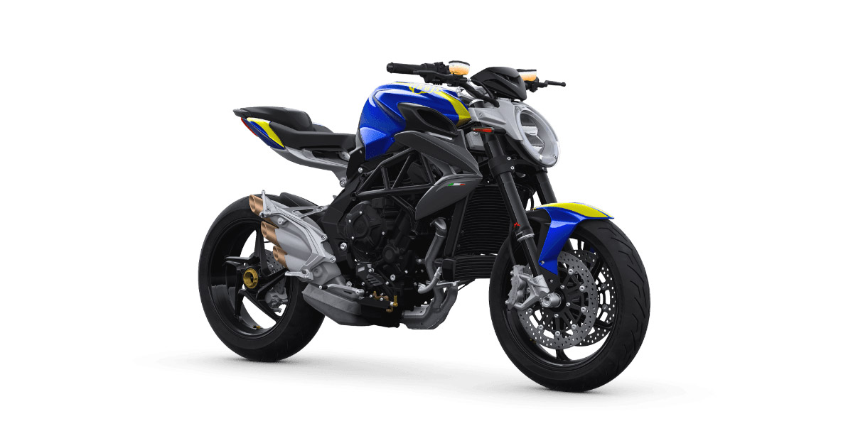 Brutale 800 Blue Yellow