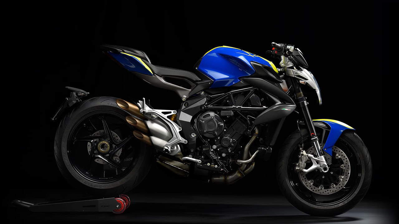 Brutale 800 Euro IV 18 Blue Yellow