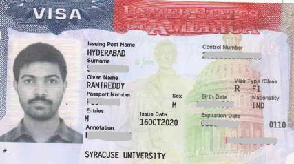 Ramireddy student visa Novus Education