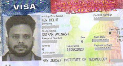 Avinash student visa Novus Education