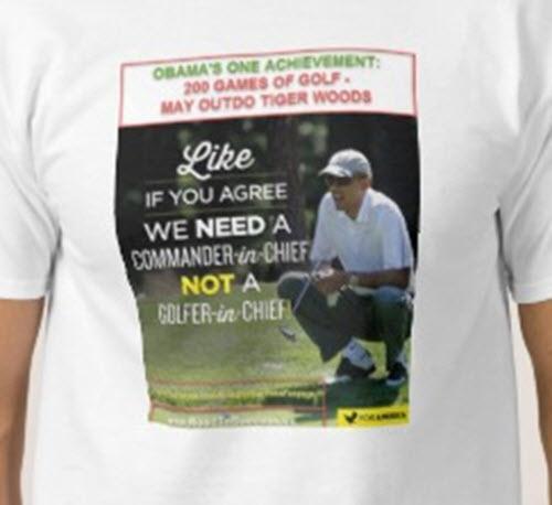 Obama Golfer