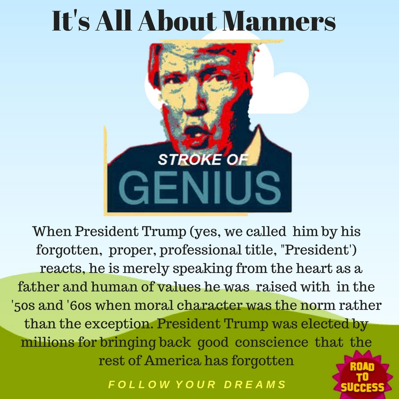 It's All About Manners - Is U.S. Really Better Today?