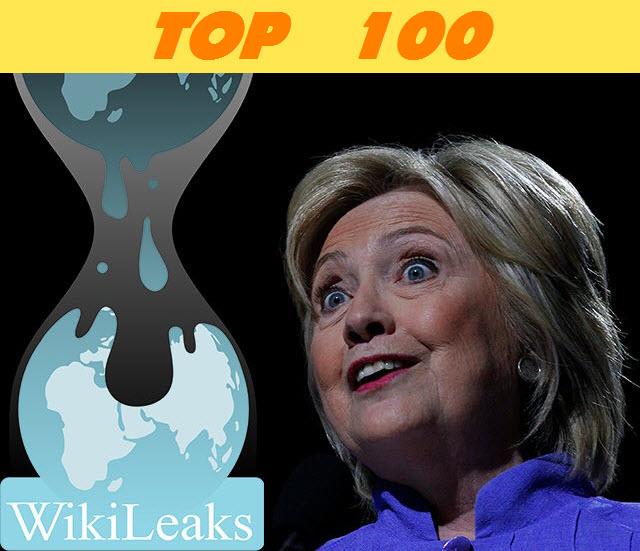 top 100 wikileaks