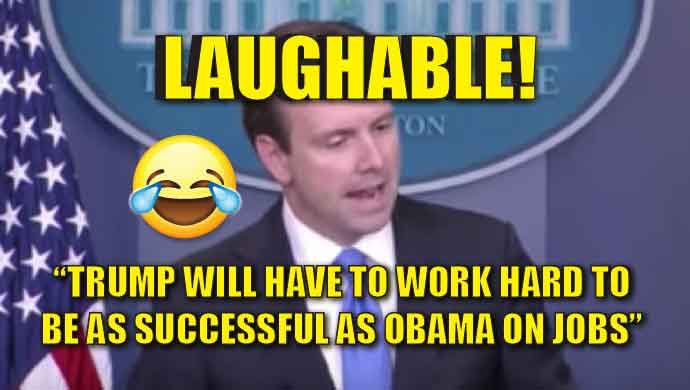 Laughable Josh Not Ernest Press Secretary