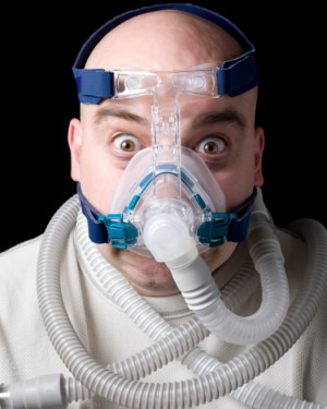 On CPAP  Machines and Sleep Centers Where One Can't Fall Asleep