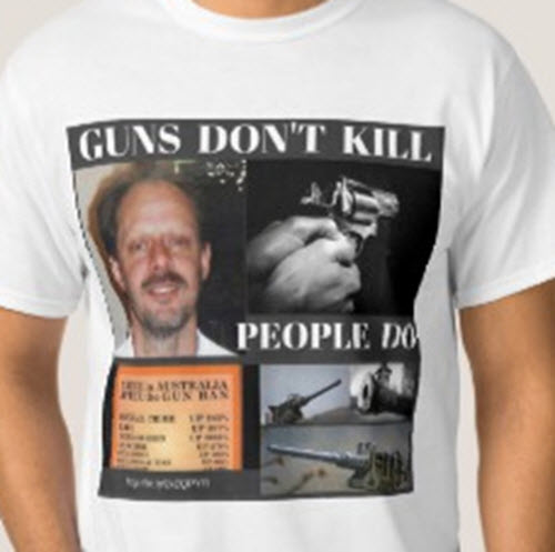 Guns Don't Kill T-shirt