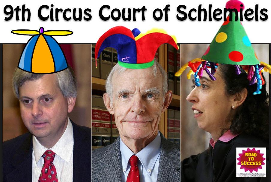 Ninth Jerk-cuit Court of Schlemiels