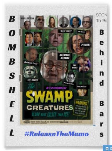 bombshell poster #ReleaseTheMemo