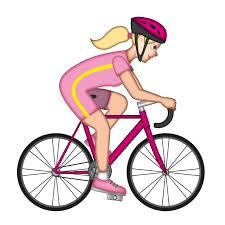 blond bike emoji