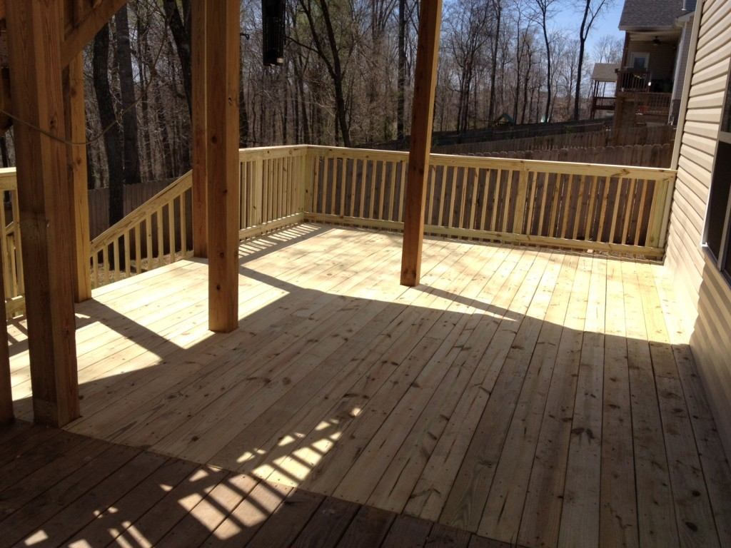 How to Pressure Wash your Deck