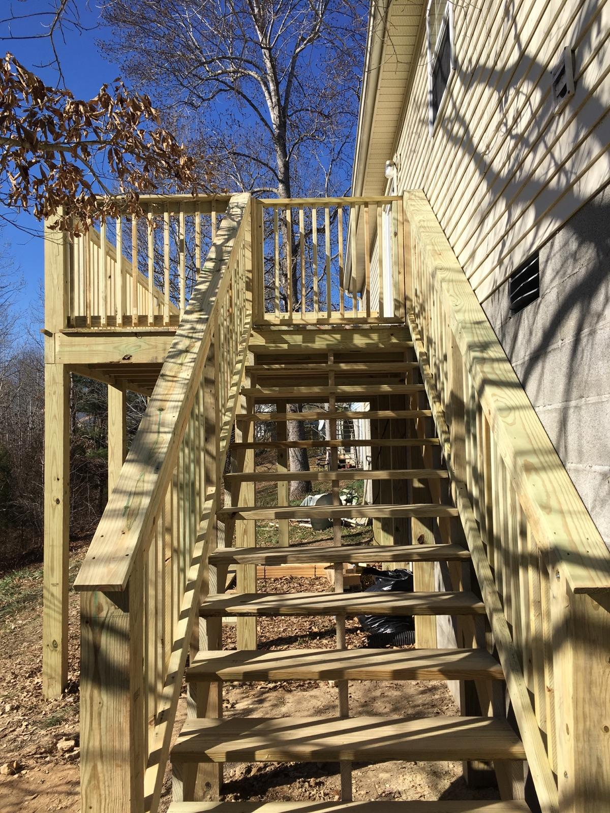 Interested in a new deck? Repairing your old deck?