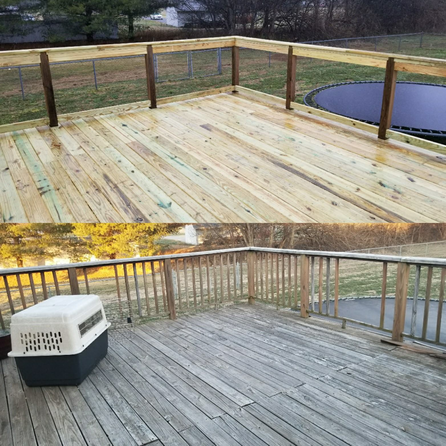 New Refinished Deck : Smyrna, TN