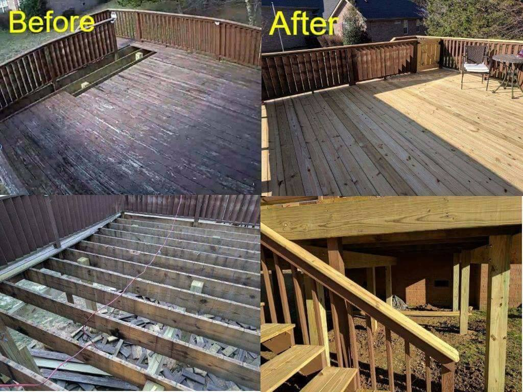 Middle TN Decks: Tips for updating your deck, patio, or enclosure.