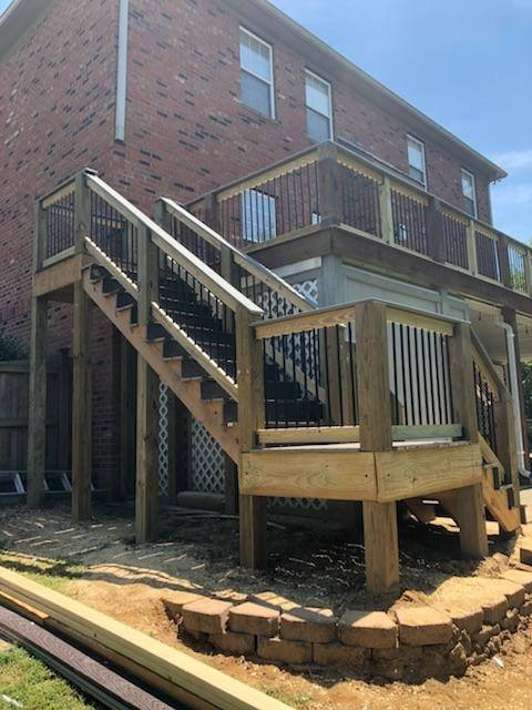 Redeck and Stairs Addition in Antioch
