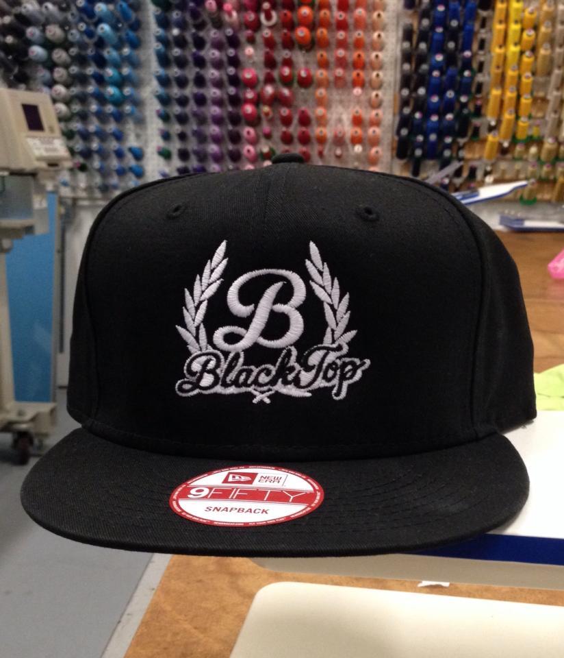 Custom embroidery on hat