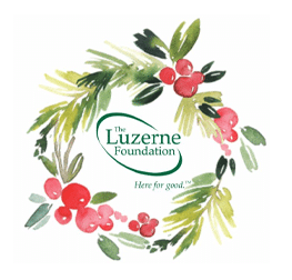 The Luzerne Foundation Holiday Logo