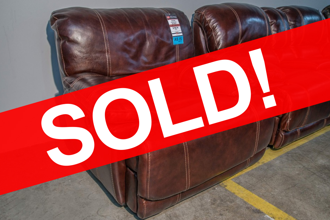 Belmont Flexsteel Leather Recliner SOLD