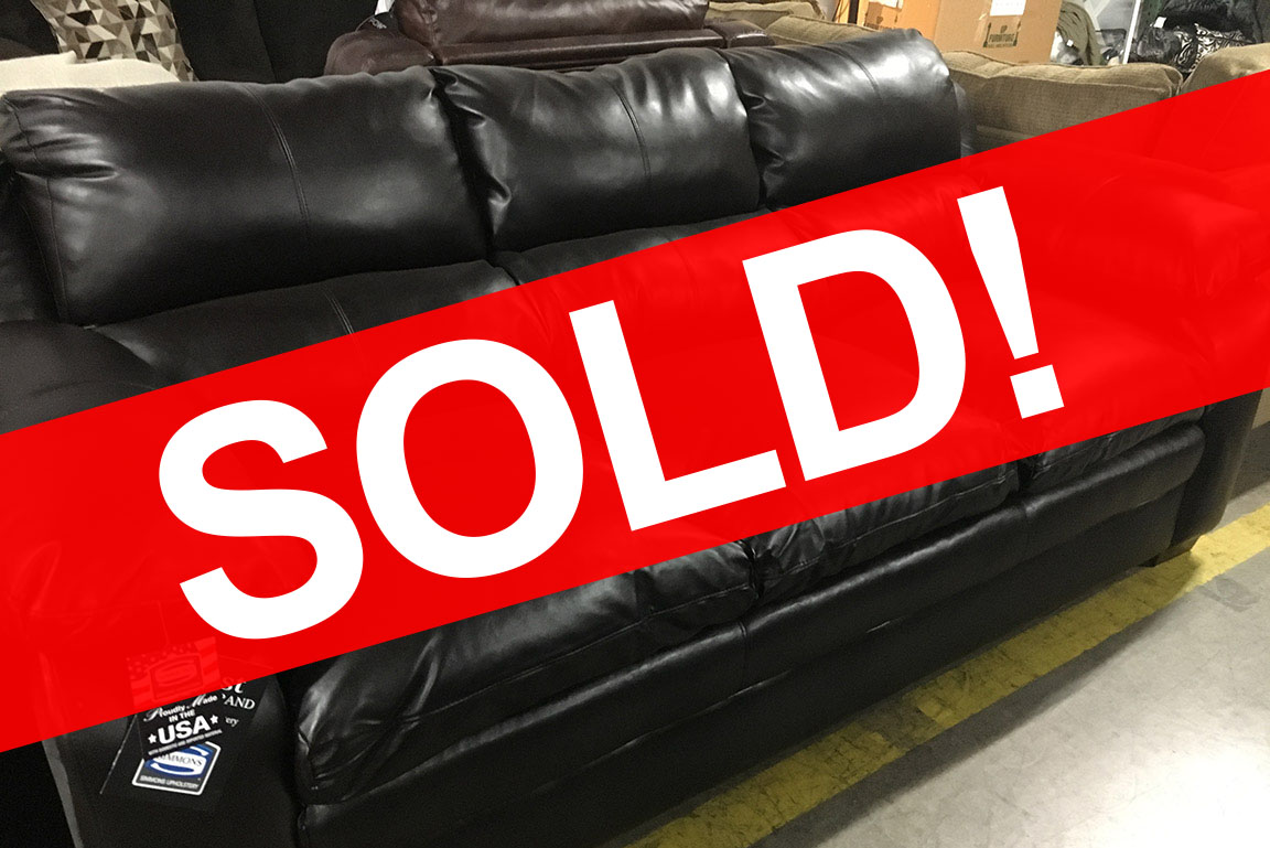 SIMMONS MAPLE SOFA Sold