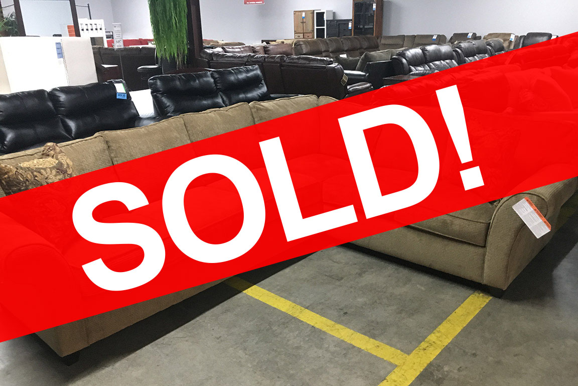 THE CARAVAN SECTIONAL SOFA Sold