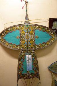 Kite Museum display tapestry art