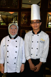 Oasis Master Chefs Landa and Risza