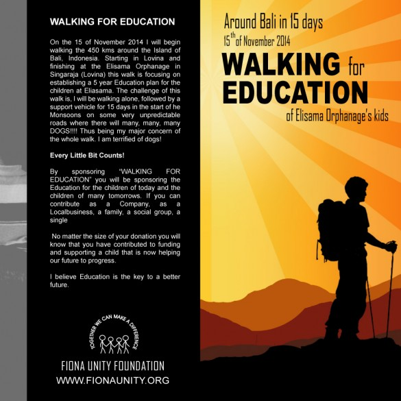 Walking for Education