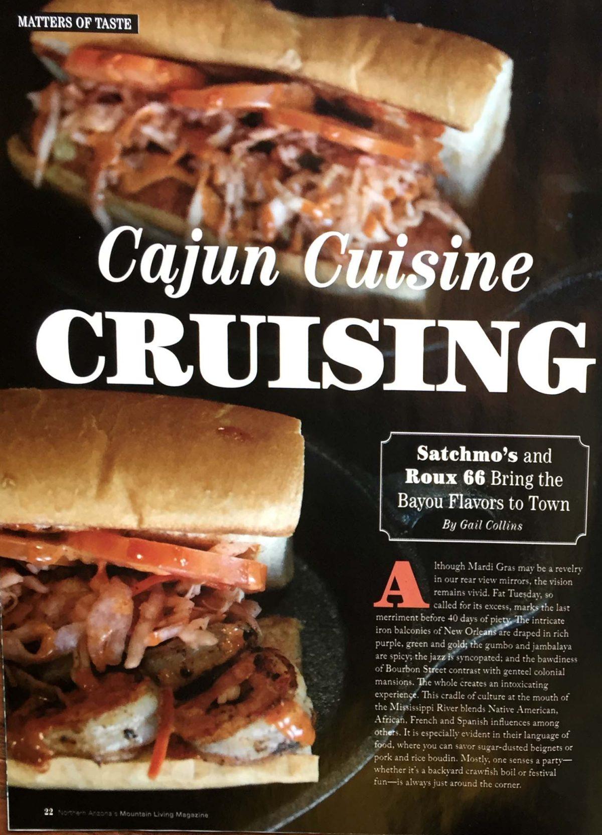 Cajun Cuisine Cruising