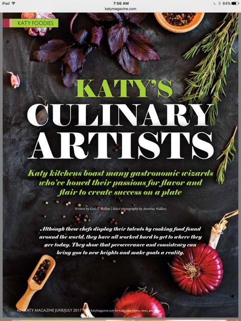 Katy's Culinary Artists