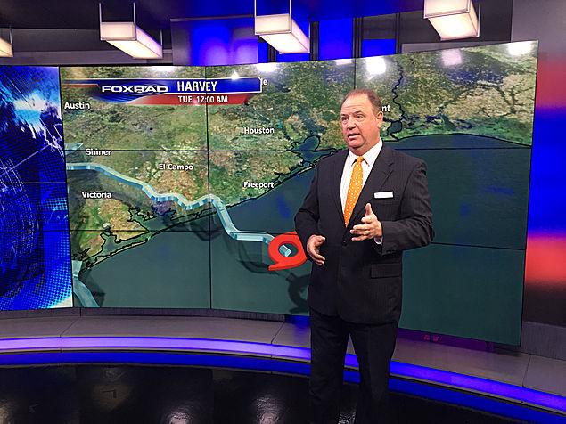 People of the Year Honoree, Jim Siebert, Chief Meteorologist Fox News 26