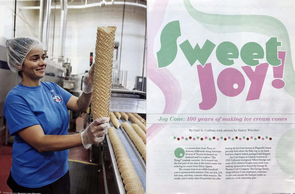 Sweet  Joy! Cone Company Turns 100