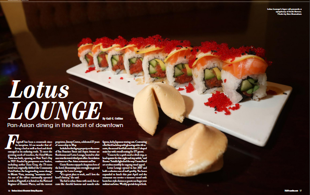 Lotus Lounge:  Pan-Asian Dining in the Heart of Downtown