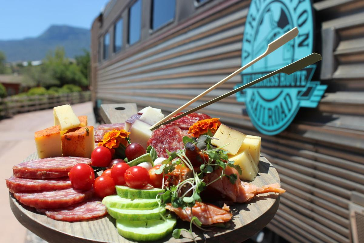 Verde Canyon Railroad's Copper Spike Café emphasizes farm-to-table offerings