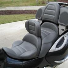 BMW K1200LT: Day-Long Solo Medium Grey | Rectangle
