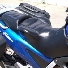 BMW F650GS: Day-long Solo | All vinyl | Rectangle Pattern