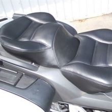 BMW K1200GT: Day-Long Dual Seat Black | Rectangles