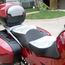 BMW R1200RT: Day-Long Dual Silver Carbon Fiber Insert