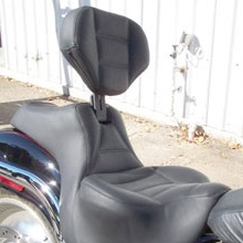 Harley-Davidson Deuce: Day-Long Solo with Backrest, Rectangle pattern