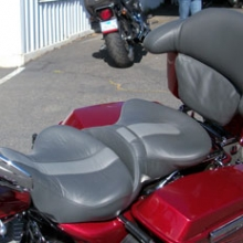 Harley Davidson: Dual Day-Long Limited Edition Pattern | Grey Leather insert | Grey Vinyl Sides