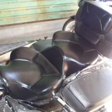 Harley-Davidson Road King: Dual Seats