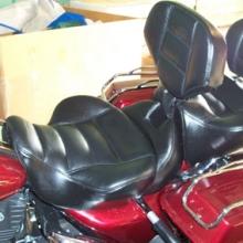 Harley-Davidson Road King: Day-Long Dual Saddle and Backrests