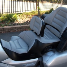 Honda GL 1800: Dual Leather 2-Tone with RCP Heating System