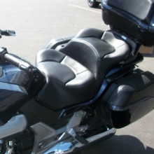 Honda CTX1300 Dual all Black Vinyl with Halfmoon pattern