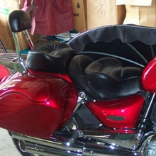Triumph Rocket: Dual All Leather