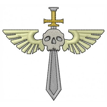 Pendant-Winged Skull