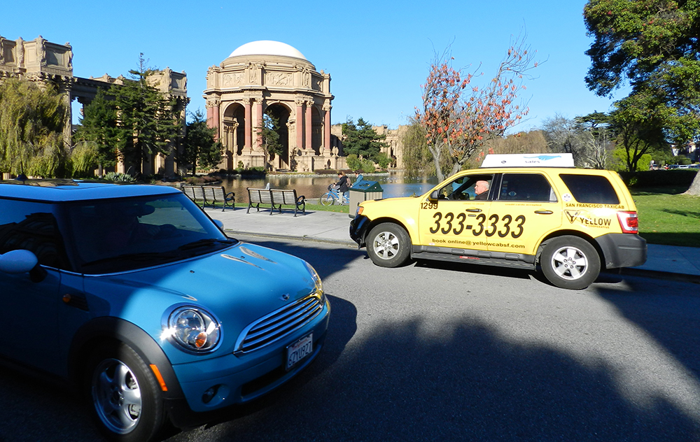 Yellow Cab Of San Francisco : More Taxis means we'll get one to you