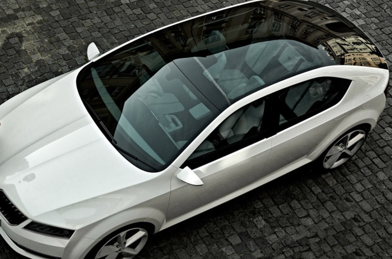 car with moonroof